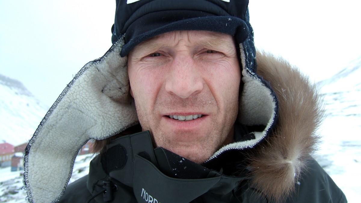 Borge gar pa tur till nordpolen