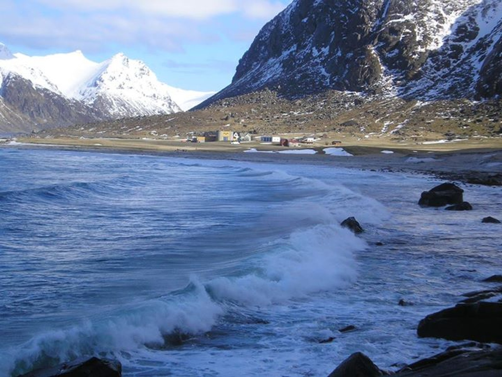 Utakleiv på Vestvågsøy langfredag