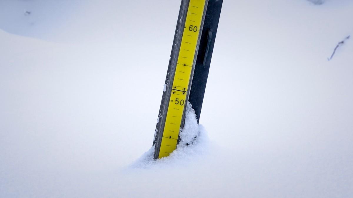 Her finner du snøen!