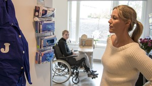Helene sjekker inn: Rehabilitering Sunnaas sykehus