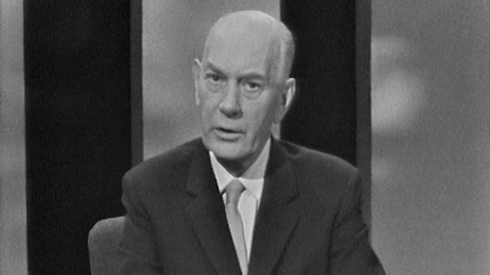 Statsministerens nyttårstale: Statsministeren taler: Einar Gerhardsen 1963