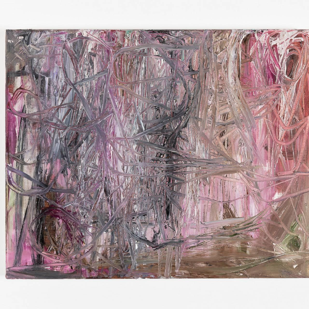 Olav Christopher Jenssen A Lucid Dream No. 05 2020 Olje på lerret 42 x 52 cm (OC m 1096)