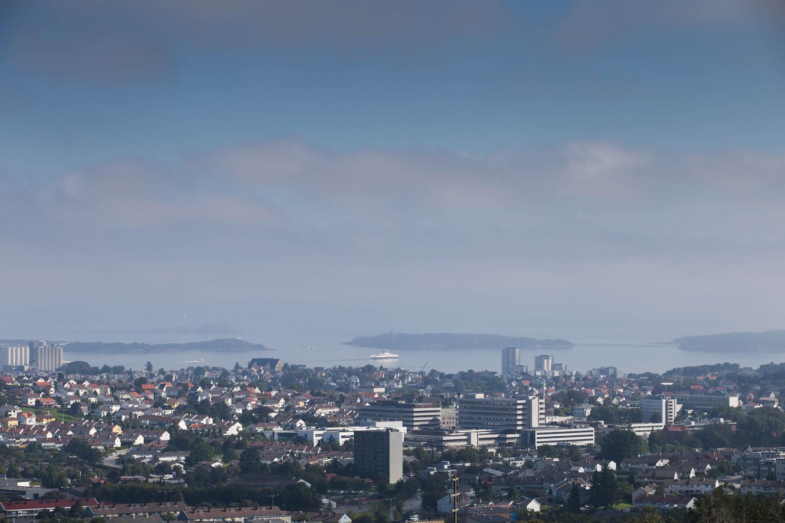 Stavanger havner på 5. plass.