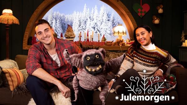 NRK Super gir deg mange gode grunner i desember til å våkne tidlig: Selma, Mathias, Zook  og vennene deres i Julemorgen!