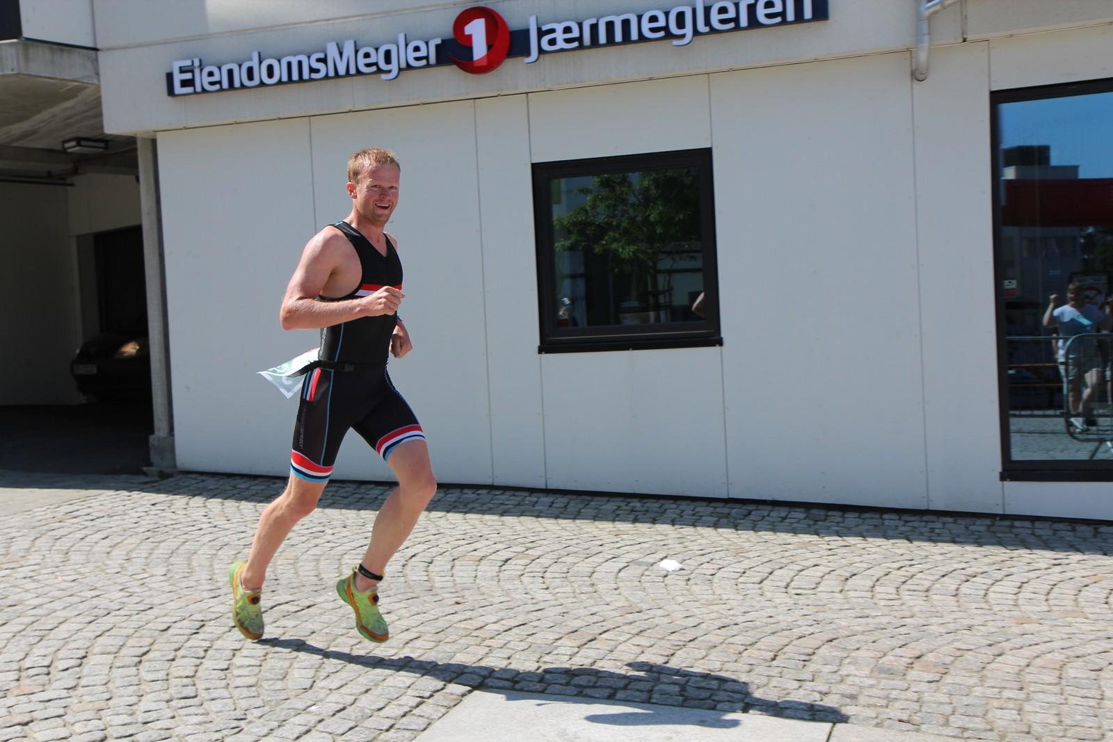 Konkurransen ble avslutta med løping i Bryne-gatene