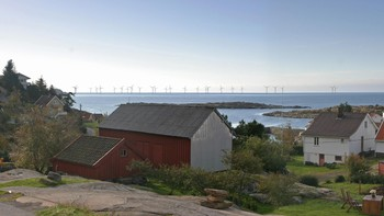 Siragrunnen vindpark