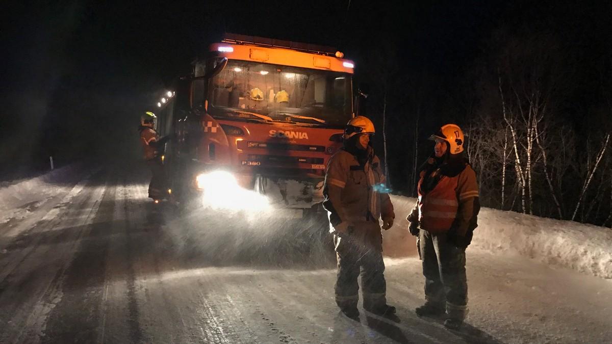 E6 ved Levajok åpnet igjen etter skred