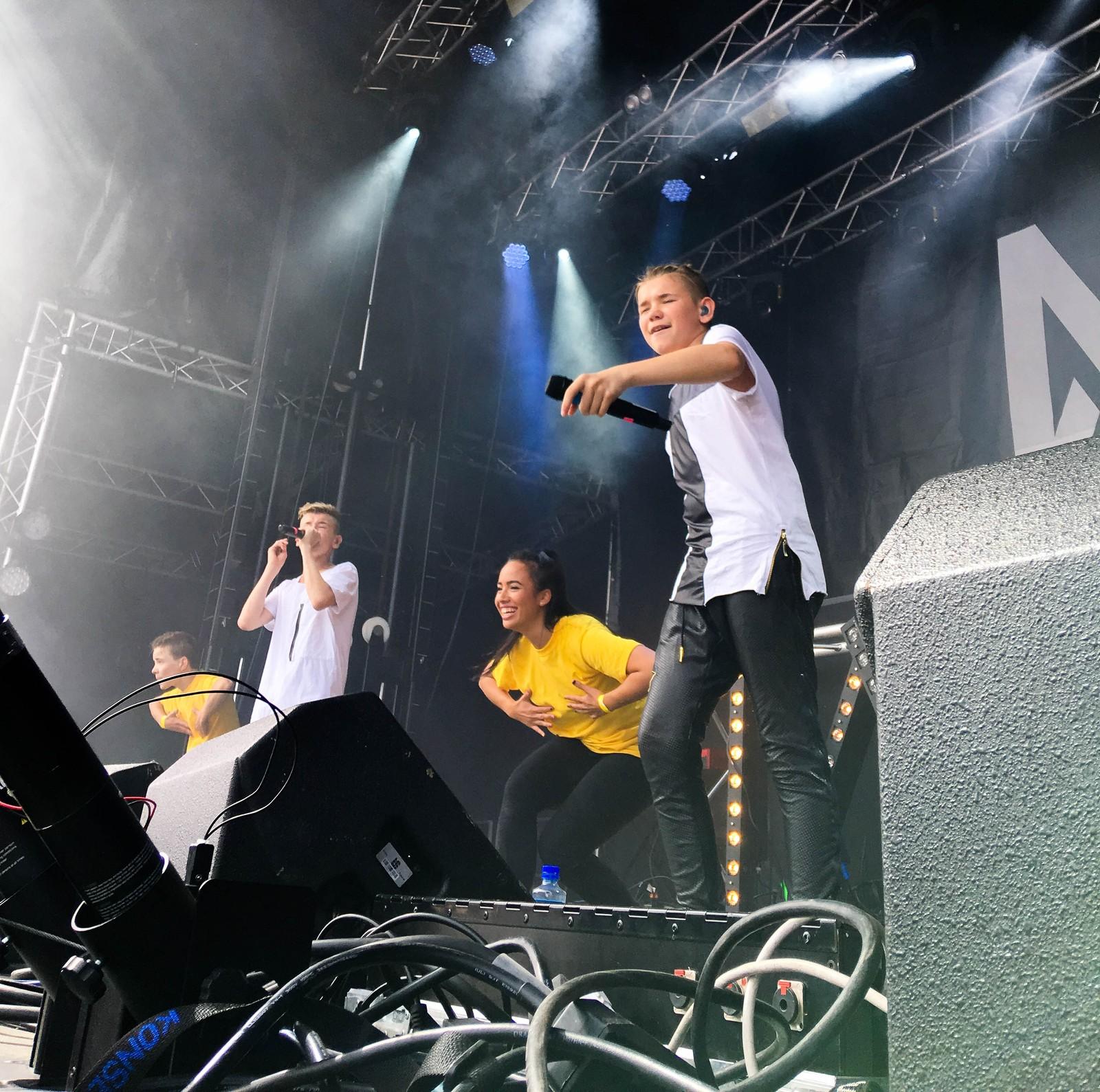 Marcus og Martinus på Sommerfesten 2016