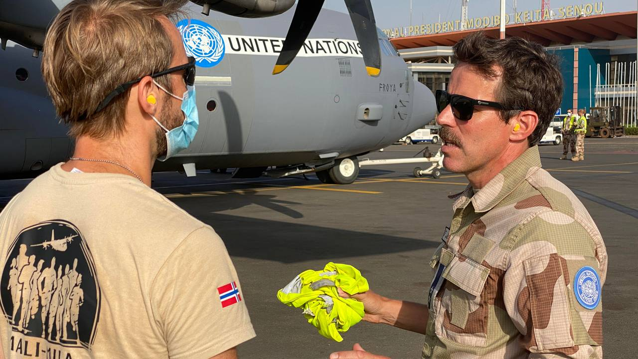 Jens Bolstad er sjef for den norske styrken i Mali, NORTAD III.