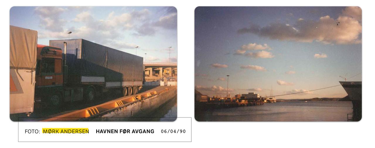 Bilder fra havnen, tatt av Mørk Andersen