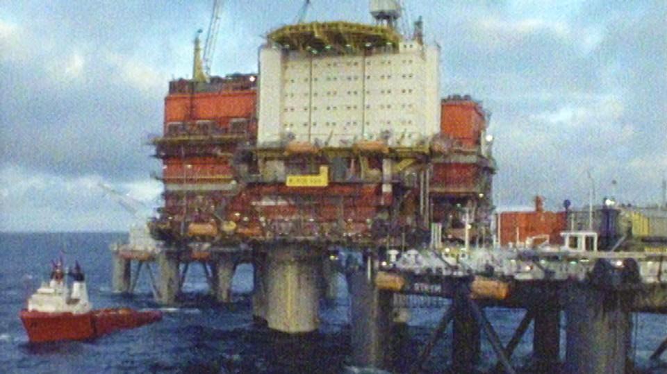 Arbeidsplass Nordsjøen