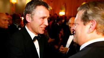 Al Gore og statsminister Jens Stoltenberg