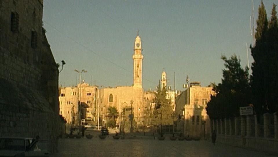 Afrikansk landsby på Jerusalems tak