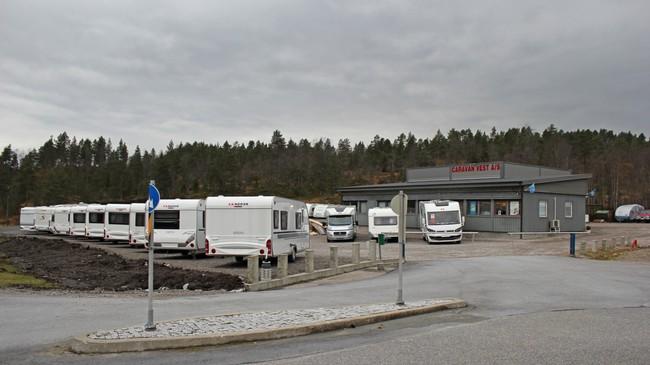 Caravan Vest. Foto: Kjell Arvid Stølen, NRK.