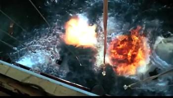 Scene frå «Titanic SUPER 3D».
