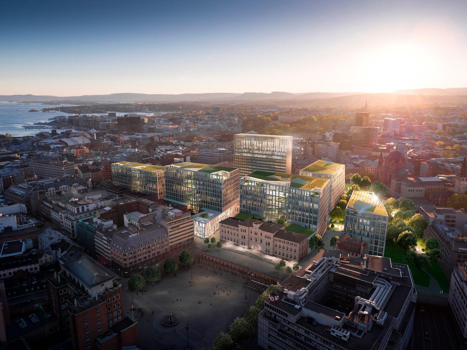 Lysning Regjeringskvartalet - arkitektkonkurranse