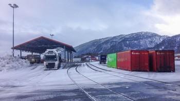 Cargolink sin godsterminal på Åndalsnes