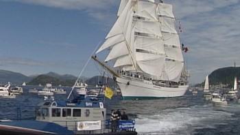Cuytty Sark Tall Ships Races i Ålesund 2001.