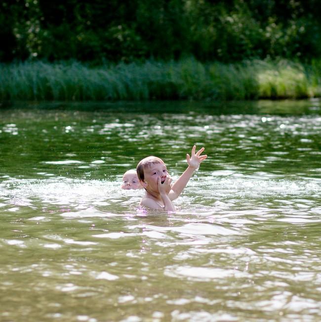 Johannes holdt på å drukne