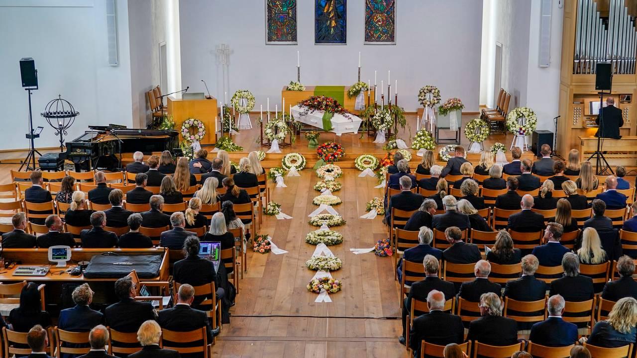 Finn Christian Jagge bisettes i Nordstrand kirke i Oslo
