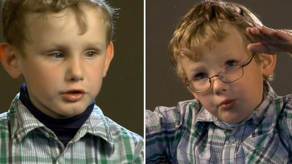 Norsk serie hvor vi får et innblikk i hverdagen til barn som har en ekstra utfordring å leve med.   Ola og Emil er tvillinger. De bor på landet og har to griser som de mater hver dag. Tvillingene er svaksynte, og Ola må stå helt inntil TV'en for å kunne se noe.