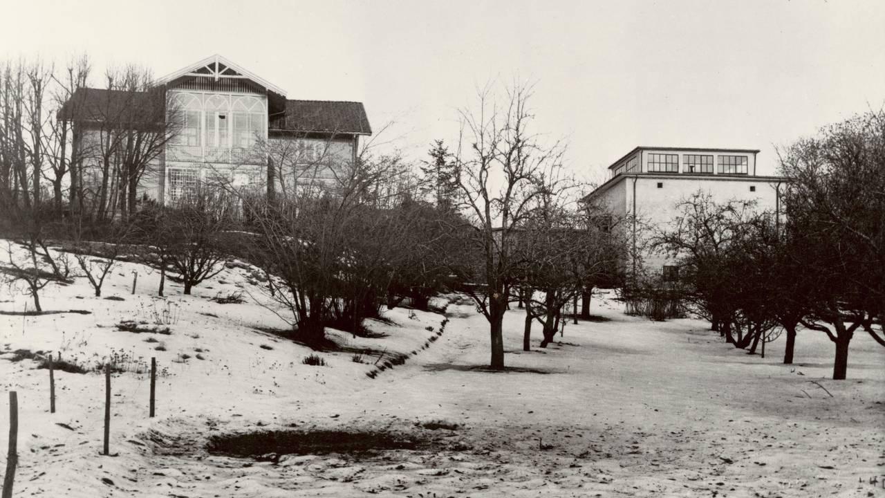 Munchs hus og atelier på Ekely