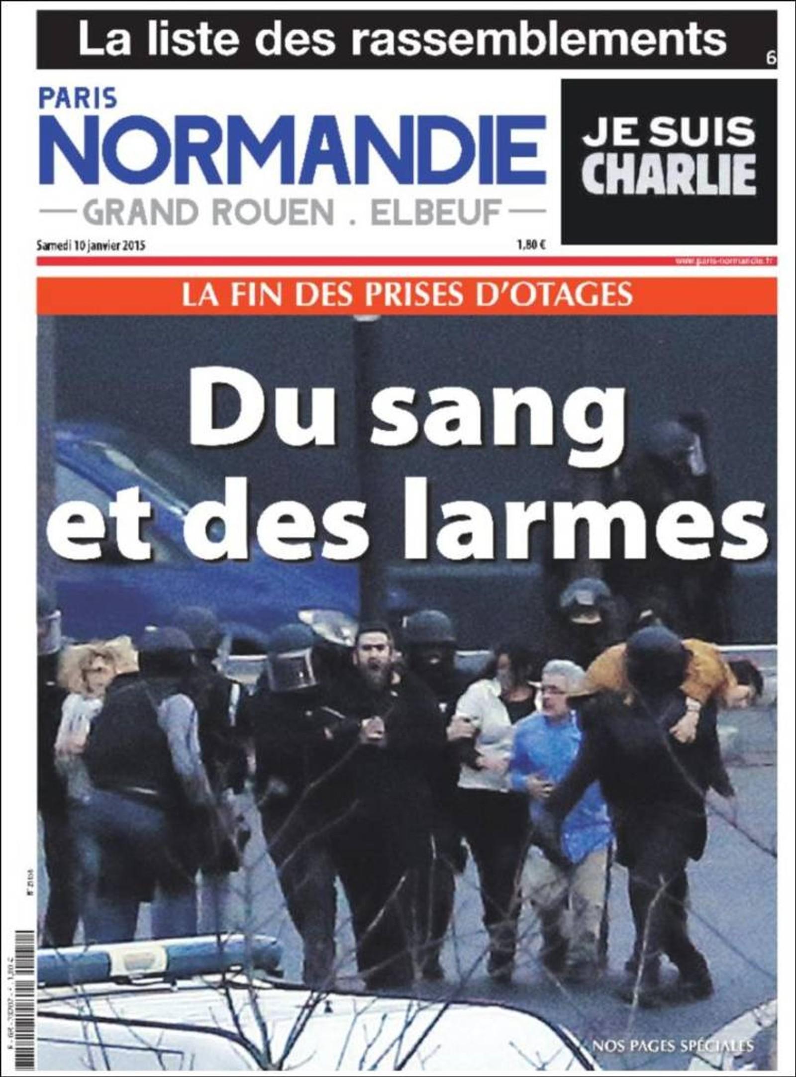 Paris Normandie: Av blod og tårer.