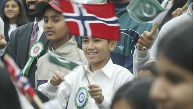 Pakistanere feirer norsk 17. mai