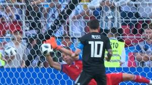 Fotball - VM: Argentina - Island