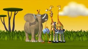 På savannen