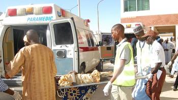 Sjølvmordsaksjon i Dikwa-leiren i Nigeria.