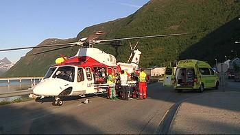 Video Dødsulykke ved Narvik