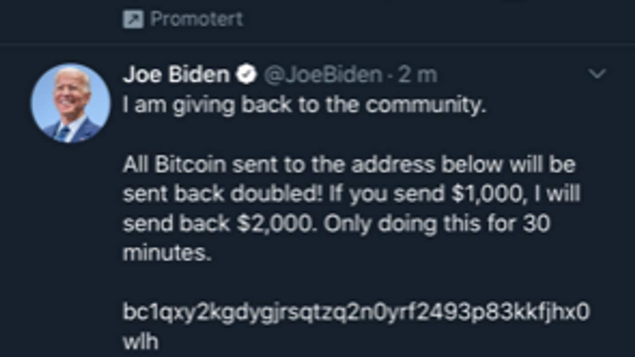 Joe Biden Hacket
