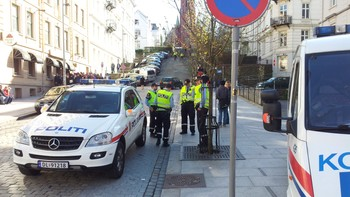 Mykje politi ute for å hindra casuals-bråk