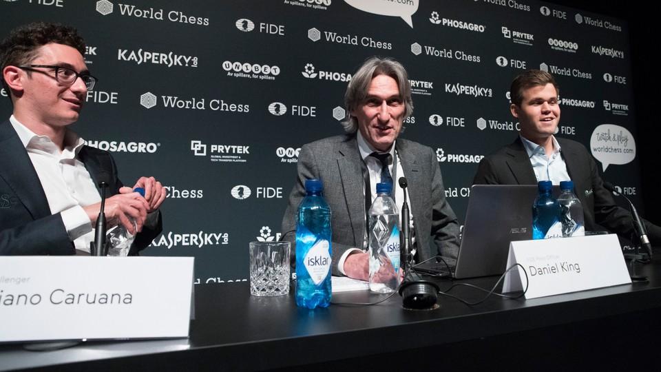 Opptak · Pressekonferanse sjakk-VM