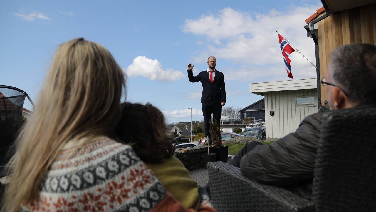 Mímir Kristjánsson, 1. mai tale Tasta i Stavanger