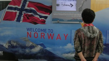 Norgesreklame i Sør-Korea