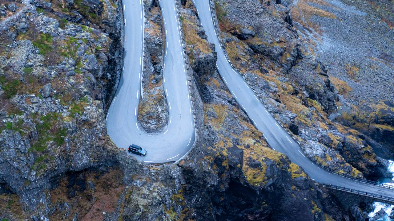 Nikkasvingen på Trollstigen 11.11.2020