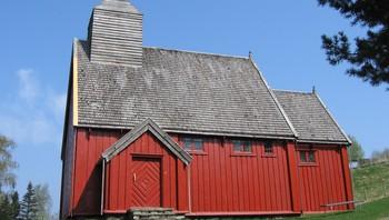 Lo kirke på Sverresborg folkemuseum i Trondheim