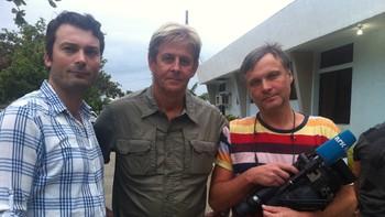 NRKs team på Filippinene