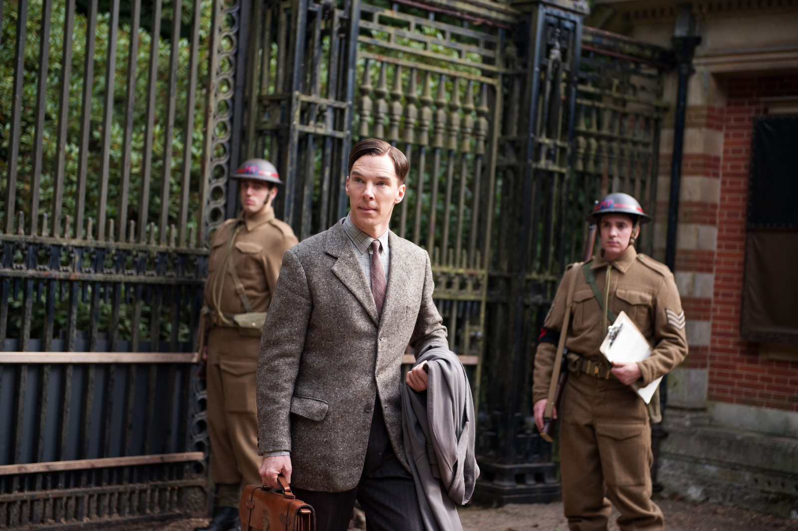 NOMINERT BESTE MANNLIGE HOVEDROLLE: Benedict Cumberbatch i «The Imitation Game».