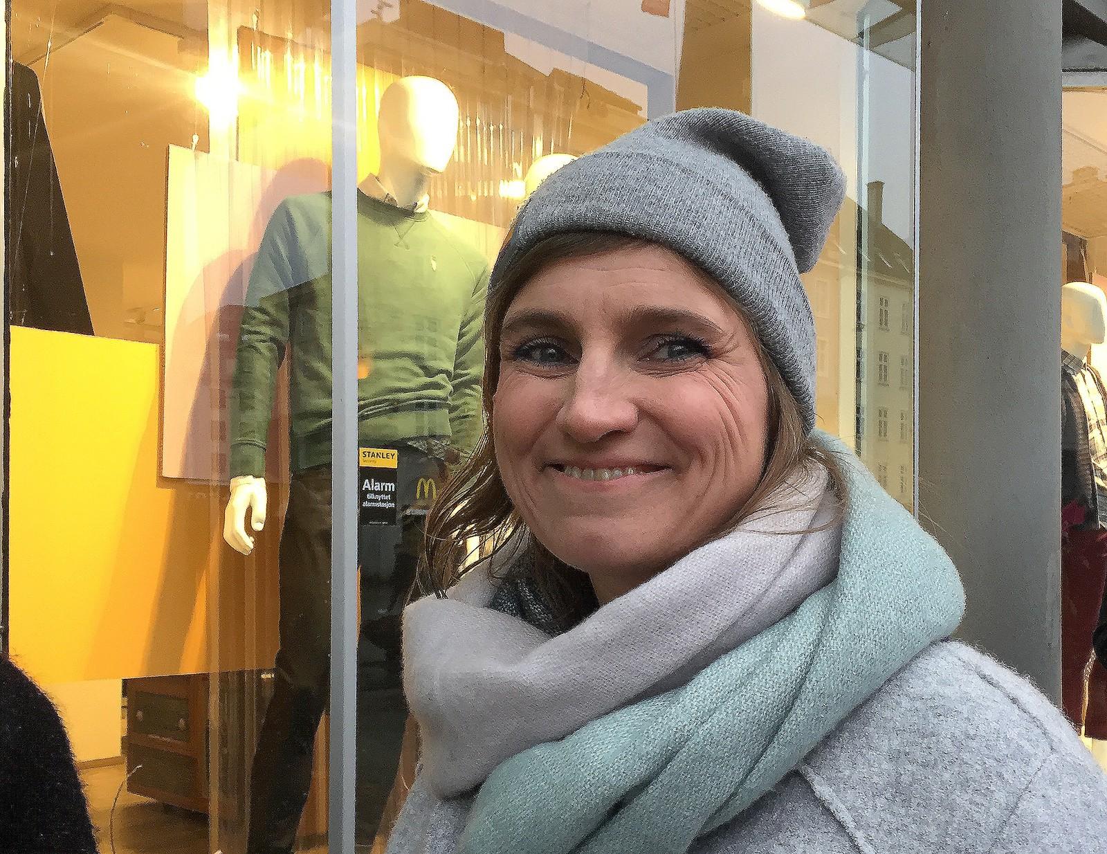 Leder av 8. mars-initiativet i Bergen 2017, Vivian Skaten Nesse, var godt fornøyd med oppmøtet.