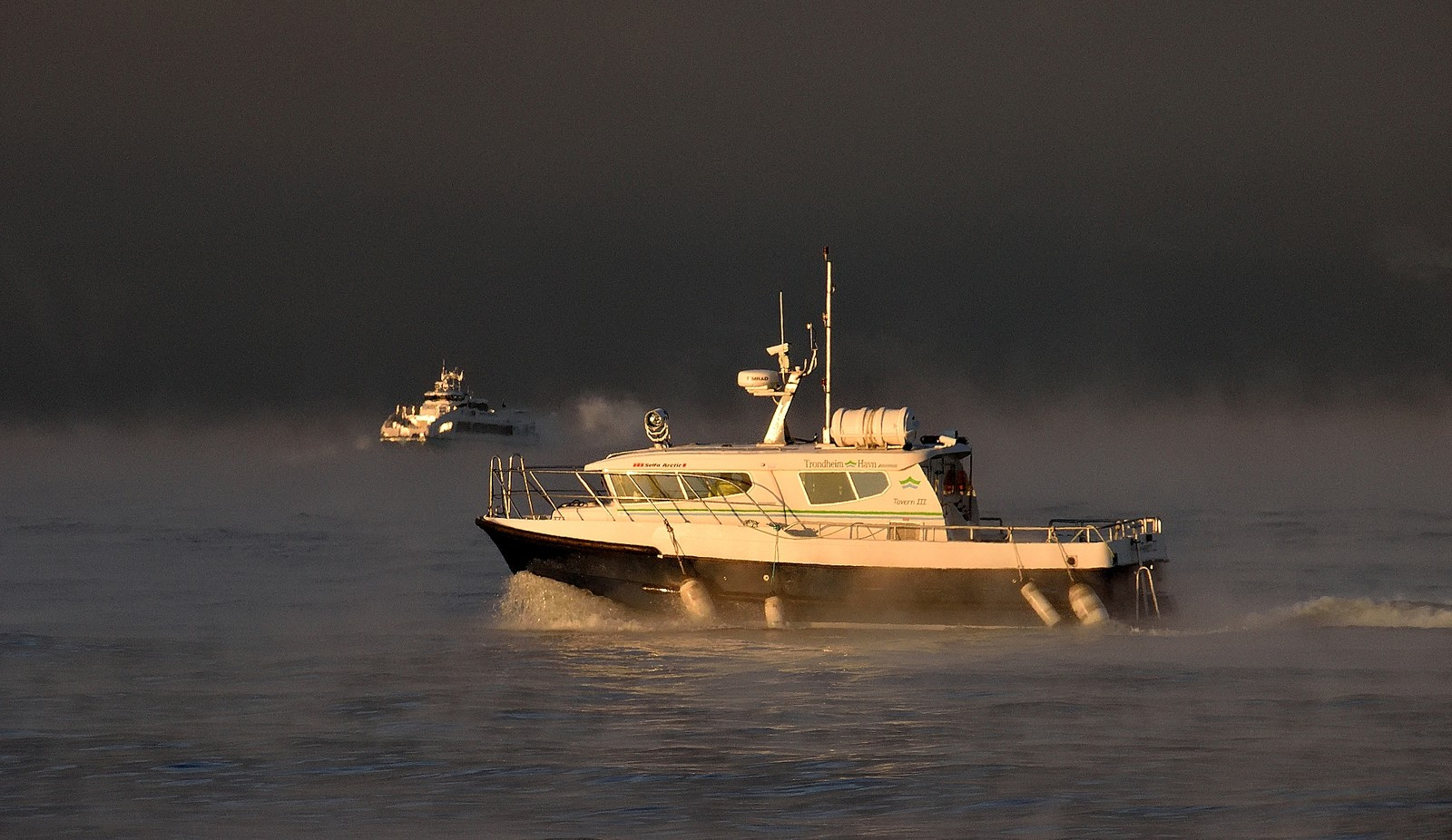 Trondheim: Havnevesenet og hurtigbåten fra Vanvikan