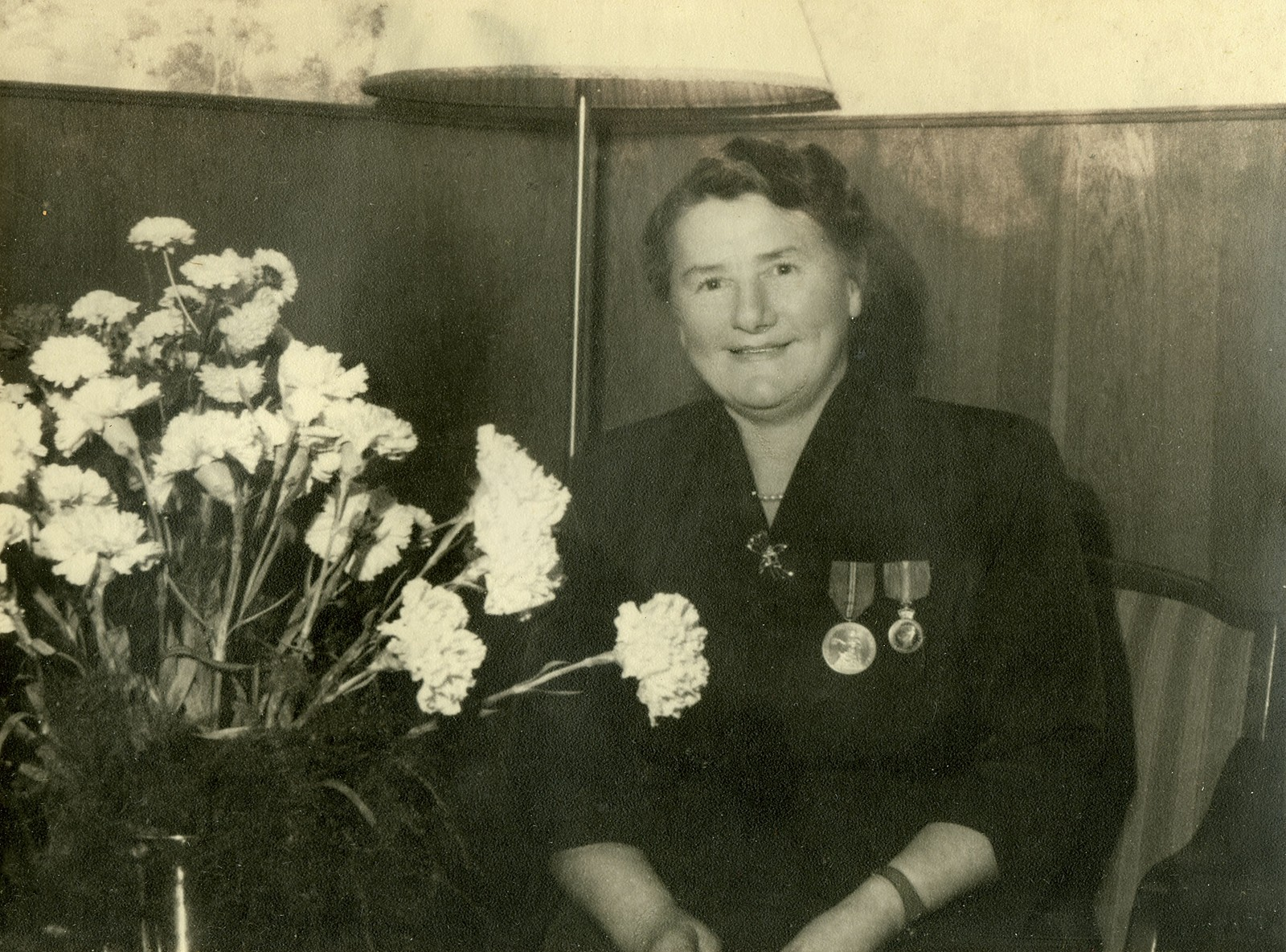Mary Jørgensen - kongens fortjenestemedalje