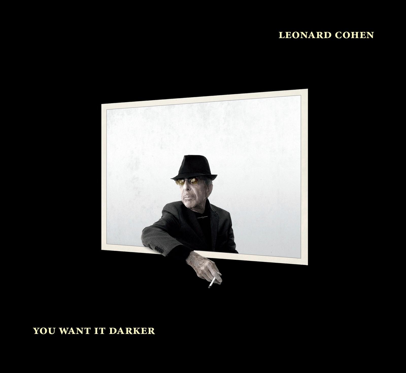 SISTE PLATE: Det er bare uker siden Cohens siste album kom ut. Til Rolling Stone forteller sønnen Adam at han skrev helt til slutten.