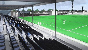 Ny tribune på Sarpsborg stadion