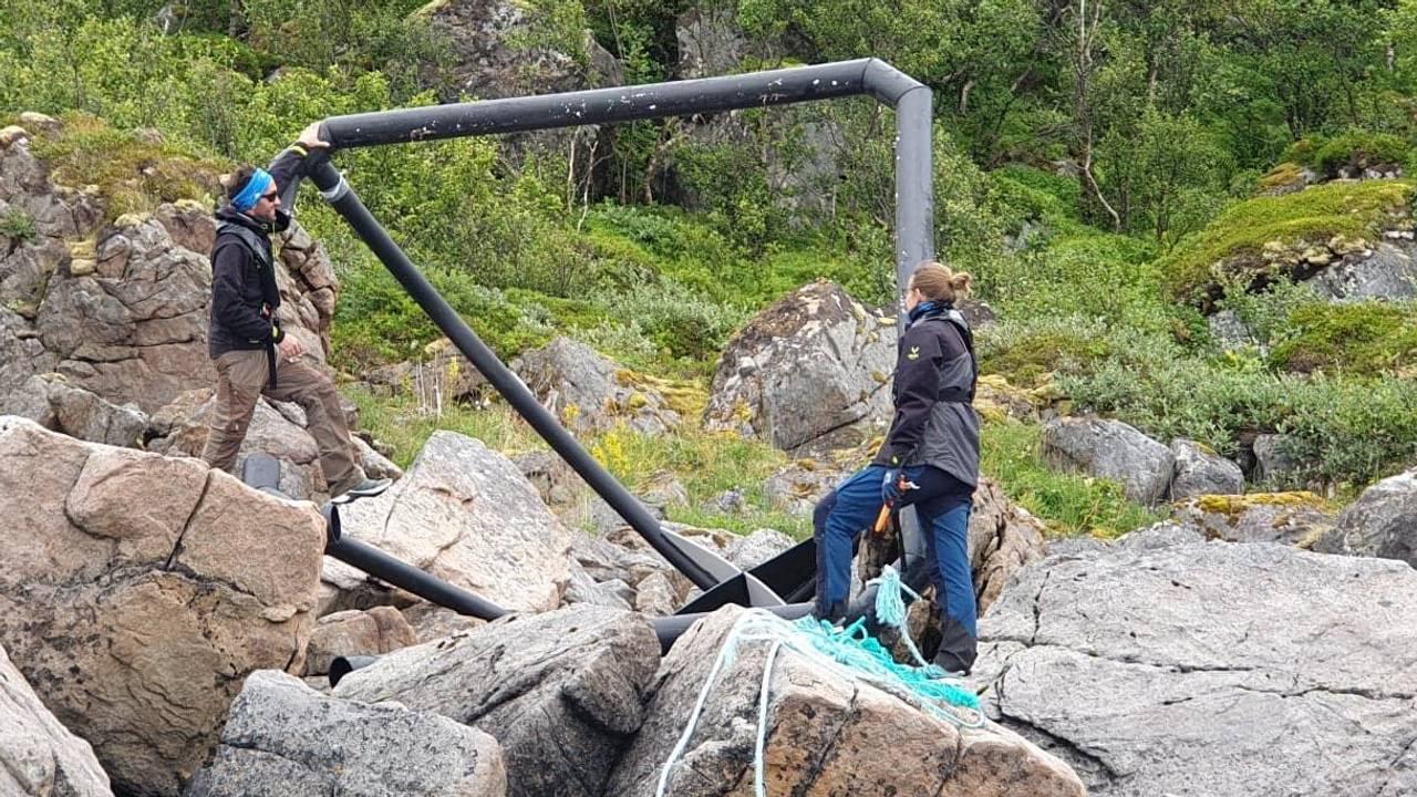 «In the same boat» rydder i Vesterålen