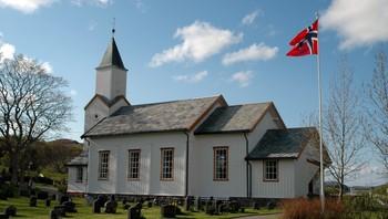 Løvøy kirke i Flatanger