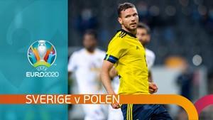 UEFA Fotball - EM: Sverige - Polen