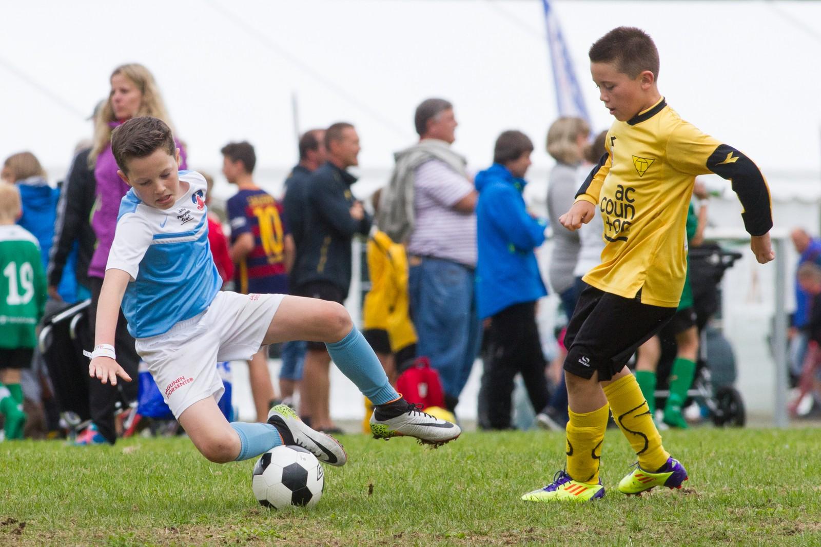 Nokre skrubsår blir det nok når over 3500 fotballspelarar møtast til kring 800 kampar.